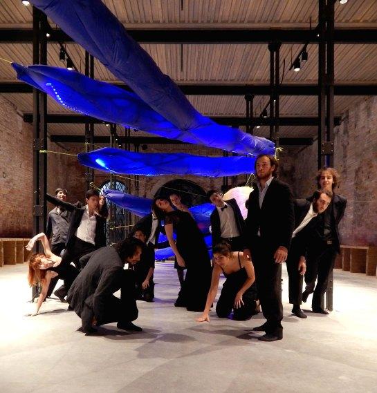 dancers end