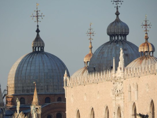 domes and oriel window